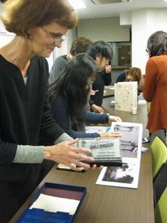 「アメリカのブックアートと製本の現在」交流会レポート